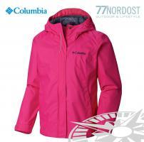 COLUMBIA Girls Arcadia Rainjacket haute pink