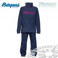 BERGANS Smadol Kids Set navy hot pink