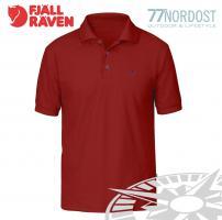 Fjäll Räven Crowley Piqué Shirt deep red