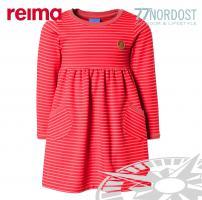 FINKID Mädchenkleid Halla rot