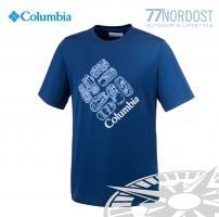 COLUMBIA Hike S'more Kids Tee blue