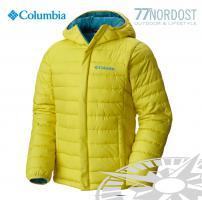 Columbia POWDER LITE PUFFER Kids yellow