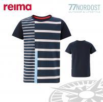 REIMA T-Shirt Co-pilot navy