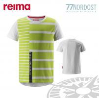 REIMA T-Shirt Co-pilot lime
