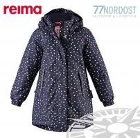 REIMA Femund Winterjacke für Mädchen navy dots