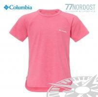 COLUMBIA Silver Ridge SS Kids pink