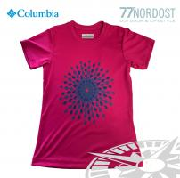 COLUMBIA Sunny Birst Graphic Kids Tee pink