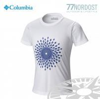 COLUMBIA Sunny Birst Graphic Kids Tee white