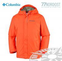 COLUMBIA Watertigth Regenjacke für Jungs orange