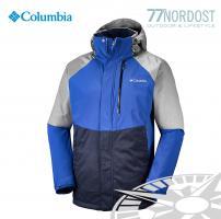 COLUMBIA Wildside Jacket Azul, Boulder Heather